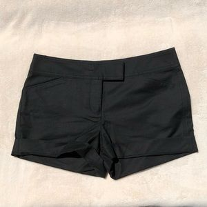 Ann Taylor Petite Black Shorts